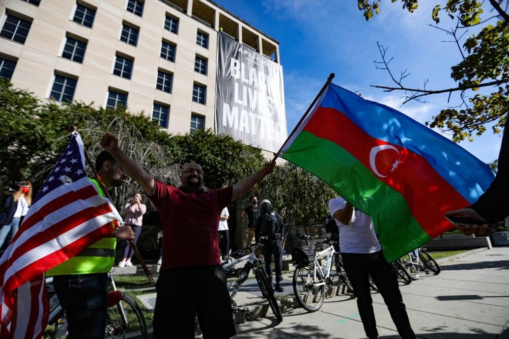 Beyaz Saray önünde Azerbaycan'a destek mitingi düzenlendi - 5