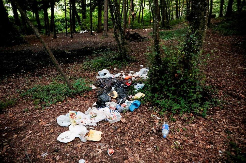 Belgrad Ormanı'nda bitmeyen vandallık - 8