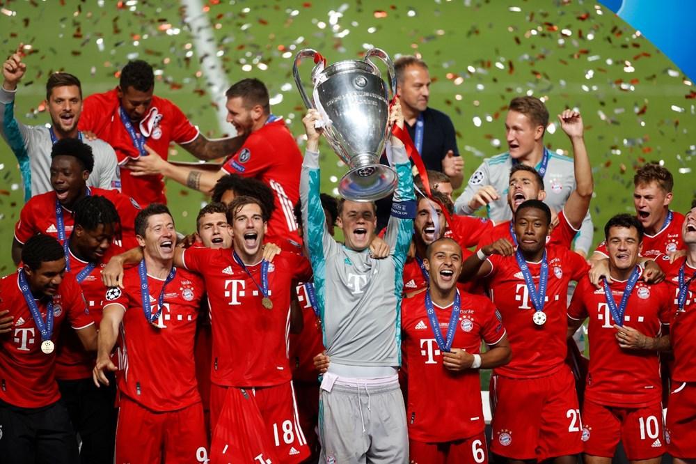 Şampiyonlar Ligi 2019-2020 sezonu şampiyonu Bayern Münih - 6
