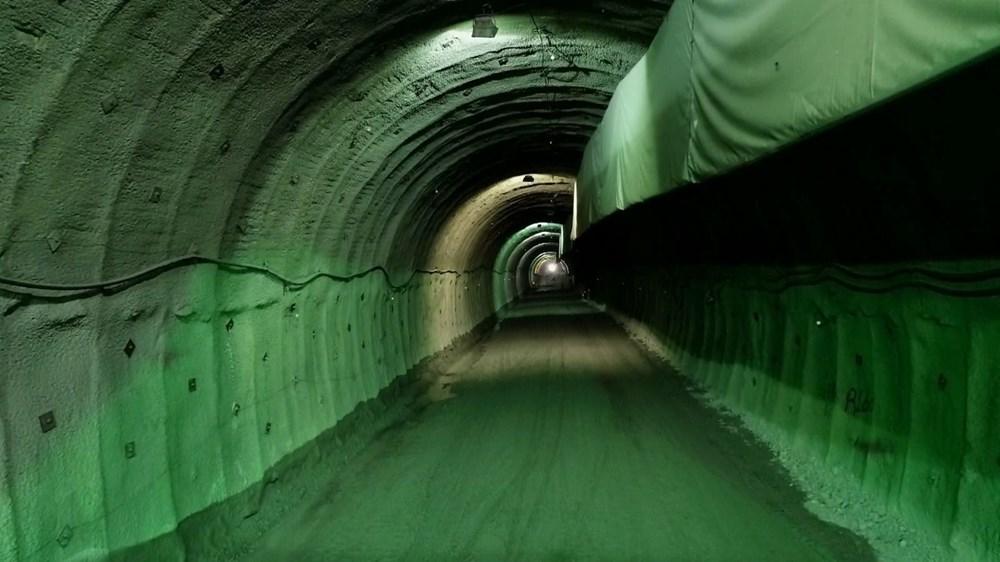 Yusufeli'nin yeni yerleşim yerine 40 tünelle ulaşılacak - 9