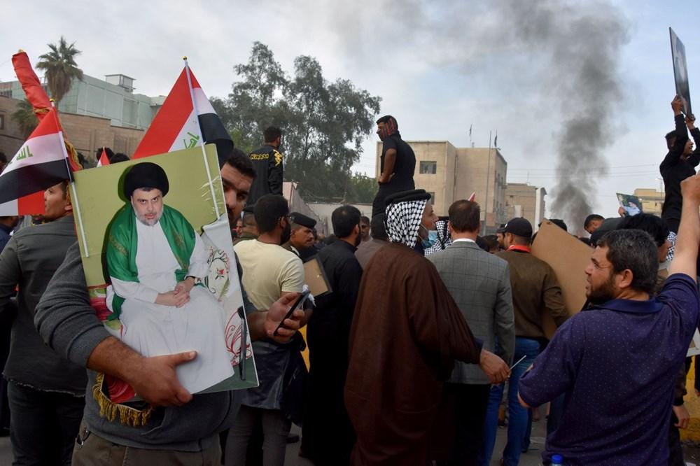 Irak Zikar'da gösterileri hedef alan saldırıda 3 protestocu öldü, 70 kişi yaralandı - 8