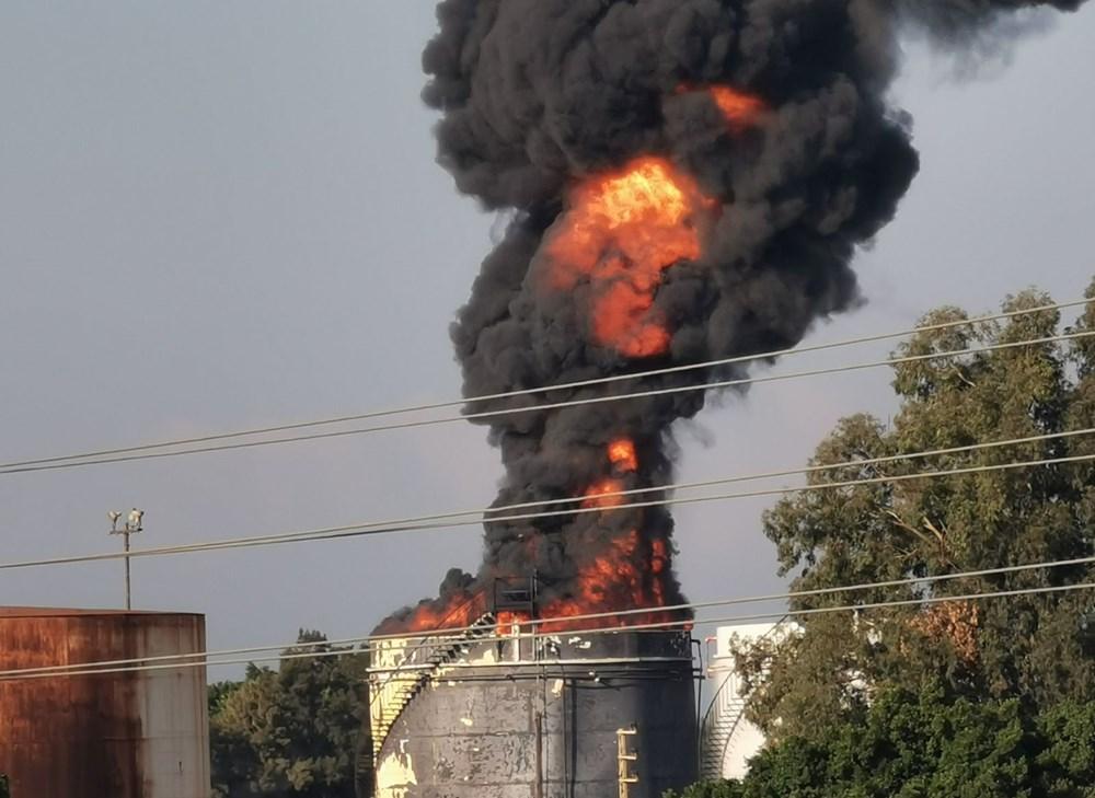 Lübnan'da petrol tesisinde yangın - 3