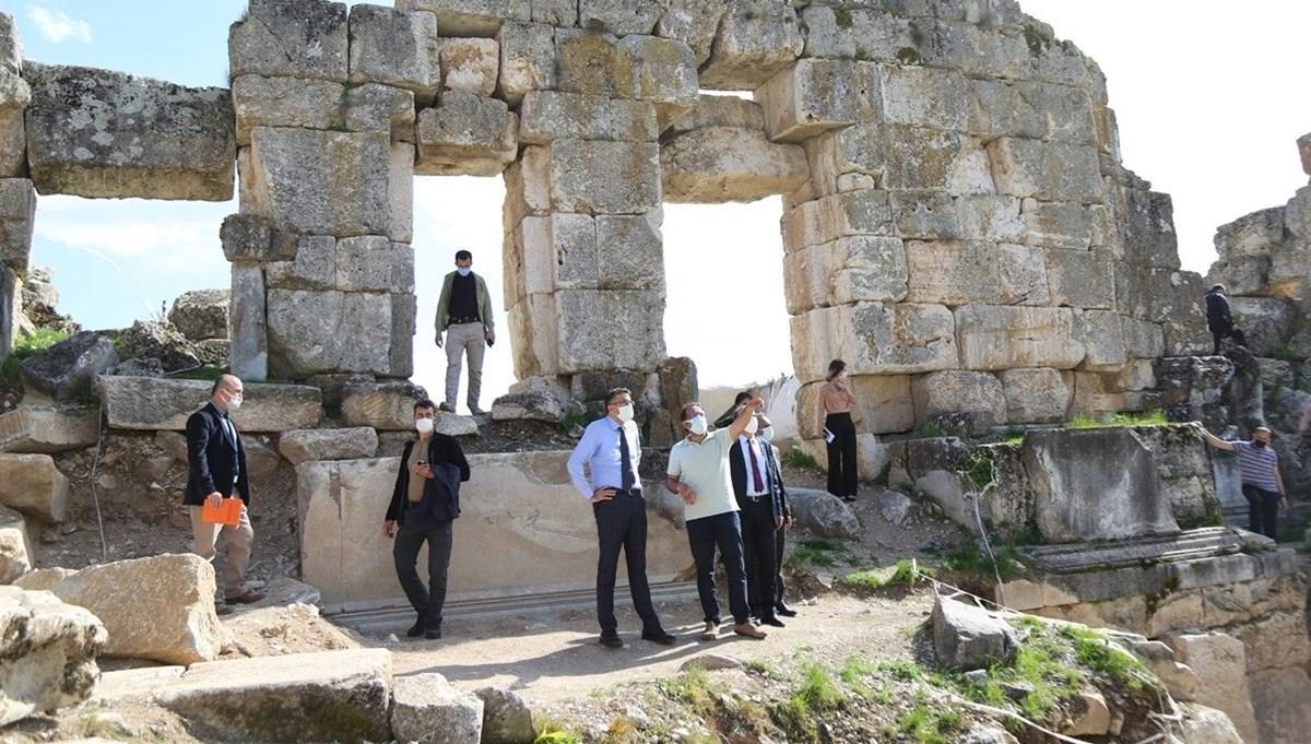 Aizanoi Antik Kenti'ndeki kazı çalışmaları hızlandırıldı