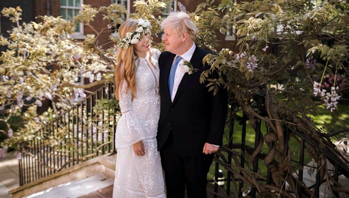 Carrie Symonds ile evlenen İngiltere Başbakanı Boris Johnson'ın düğün fotoğrafları