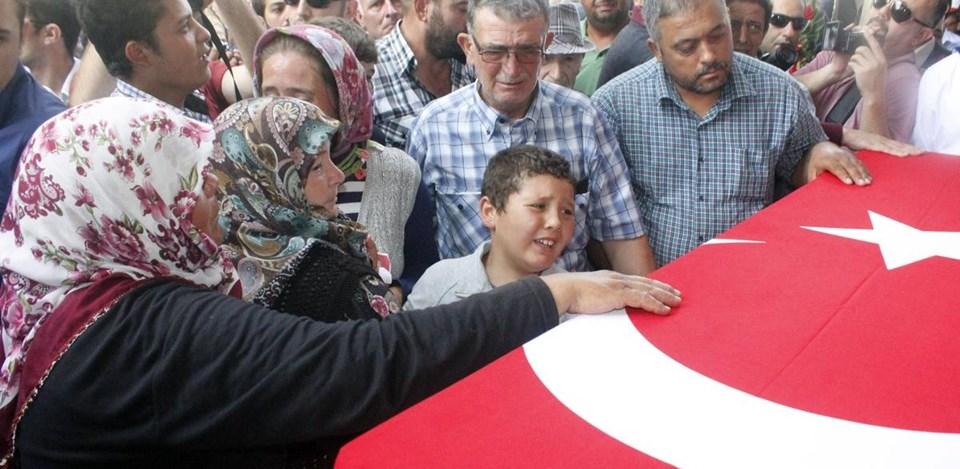 Fatih Duru'nun cenazesinden
