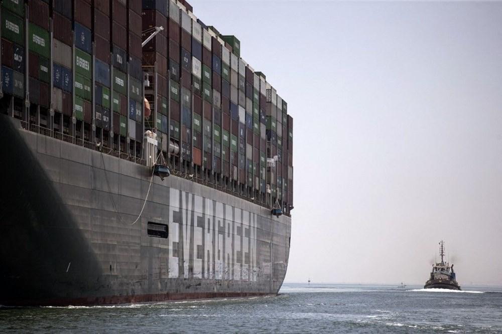 Süveyş Kanalı'nı tıkayan gemi 108 gün sonra serbest - 5