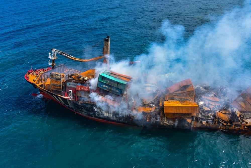 Kimyasal madde taşıyan gemi battı: Sri Lanka çevre felaketiyle karşı karşıya - 10