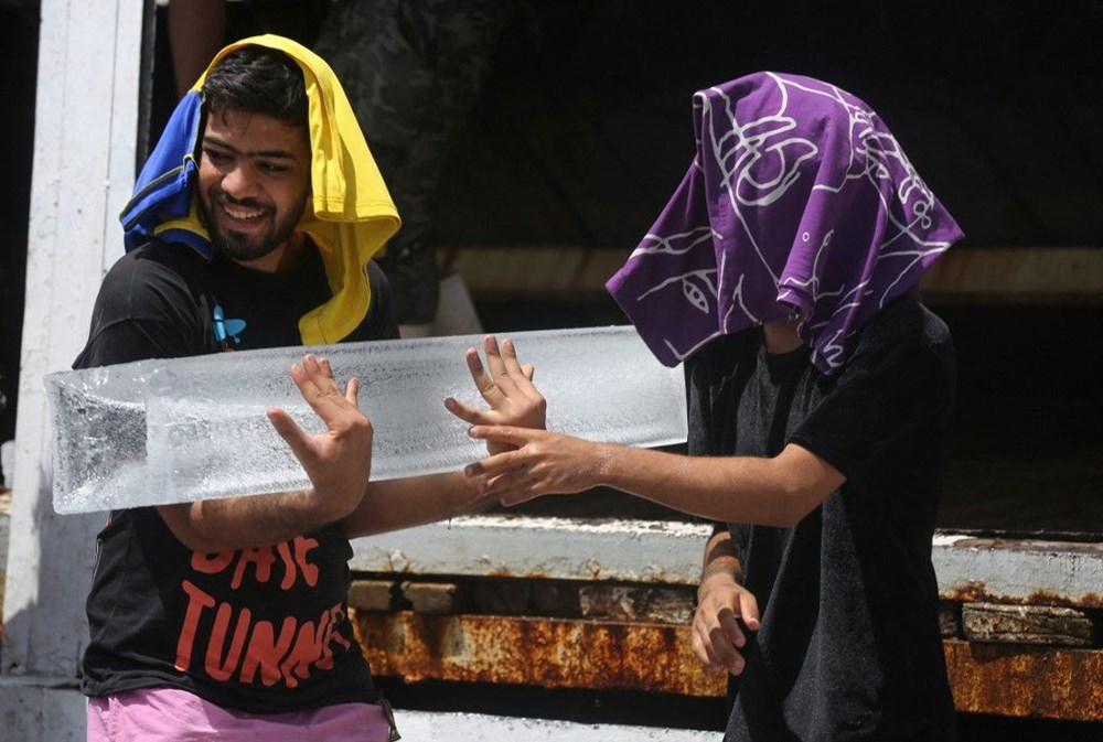 Temperature exceeded 50 degrees in the shade in Iraq: Ice demand exploded - 2