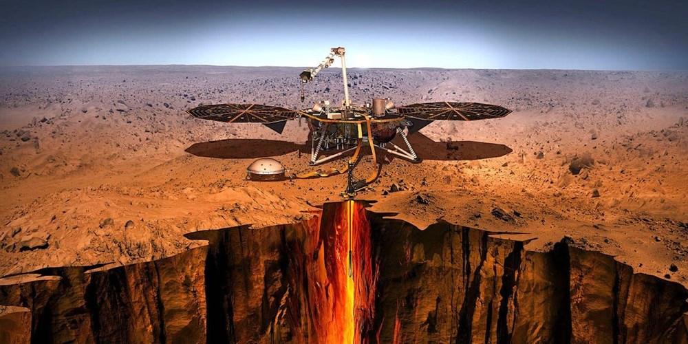NASA'nın InSight aracı Mars'ta meydana gelen en şiddetli depremi kaydetti - 8