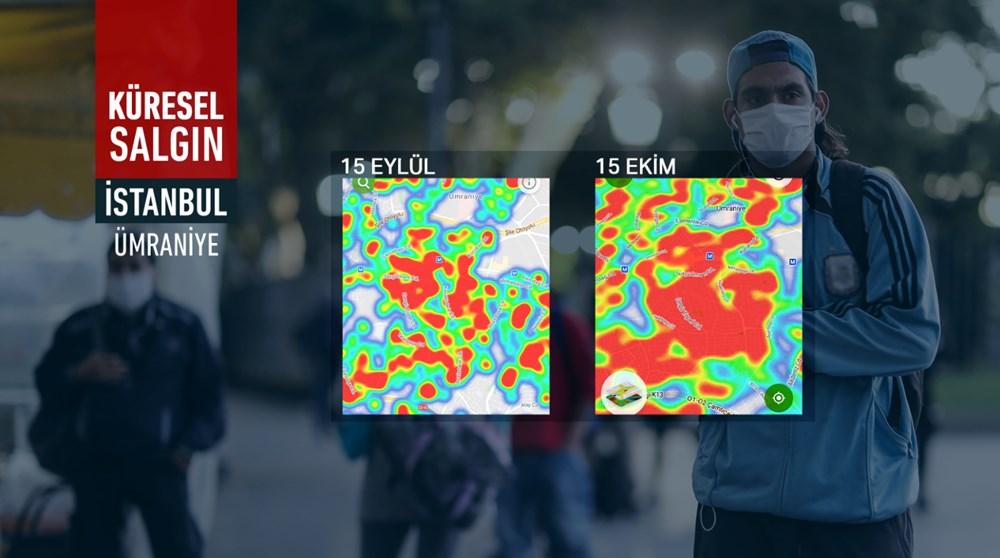 İstanbul'da vakalar yine arttı: Harita kırmızıya büründü - 5