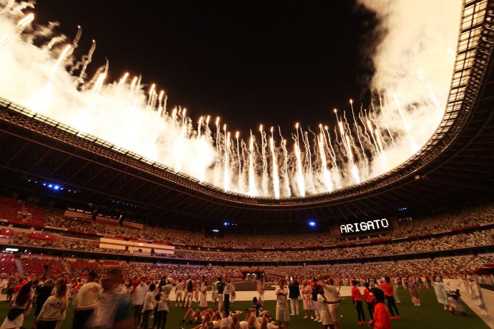 2020 Tokyo Olimpiyat Oyunları, resmen sona erdi (Türkiye, olimpiyat rekorunu kırdı) - 9