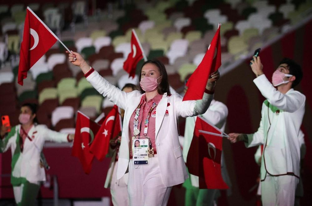 2020 Tokyo Olimpiyatları görkemli açılış töreniyle başladı - 16