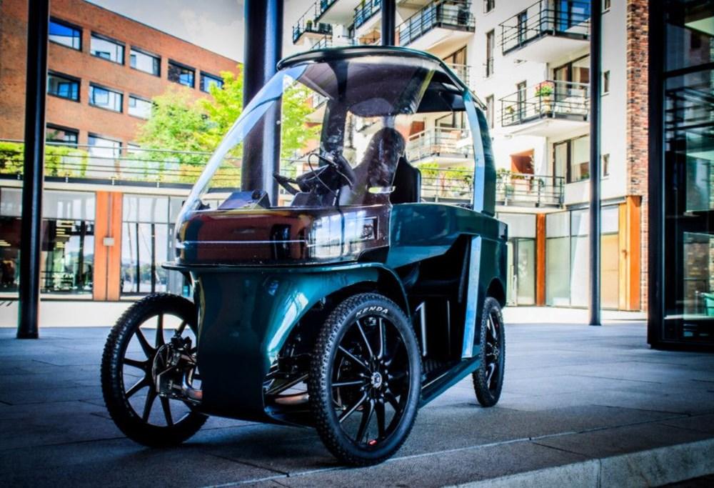 Konforlu seyahat için dört tekerli elektrikli bisiklet - 2