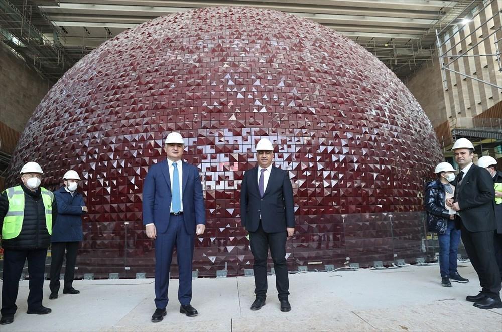 Kültür ve Turizm Bakanı Ersoy: AKM dünyadaki en önemli 10 kültür merkezi arasında yer alacak - 8