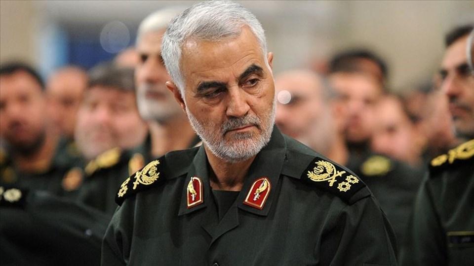 İran Devrim Muhafızları Ordusu'na bağlı Kudüs Gücü Komutanı Kasım Süleymani.