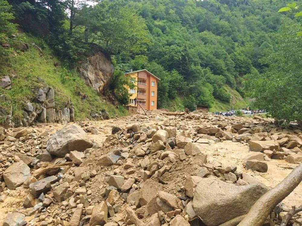Şiddetli yağış Rize'yi de vurdu: 2 can kaybı - 29