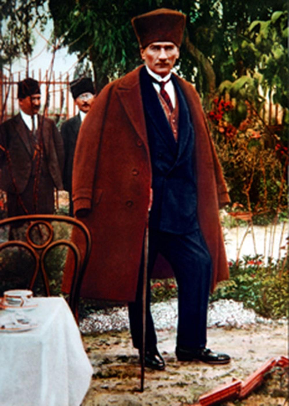 Genelkurmay'dan renkli Atatürk fotoğrafları | NTV