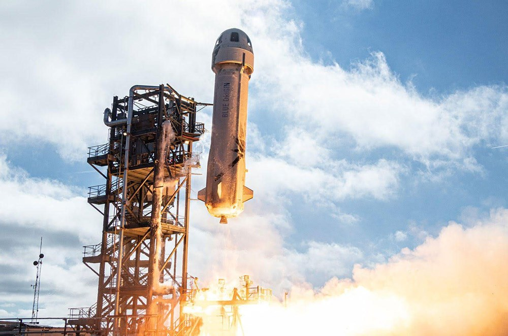 Blue Origin uzay için tarih verdi: 1 koltuk satışta - 2