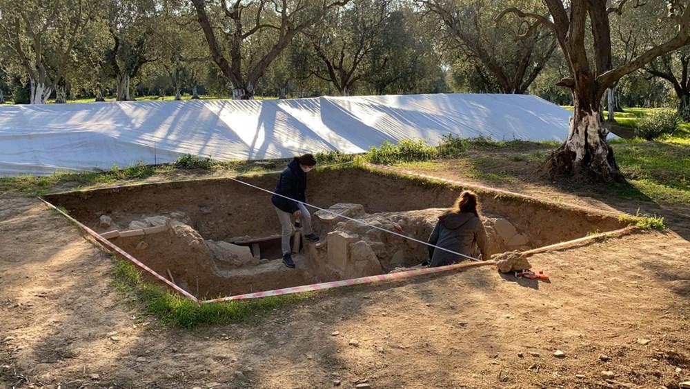 İznik'teki lahit mezarlarında 1500 yıllık mesaj bulundu - 5