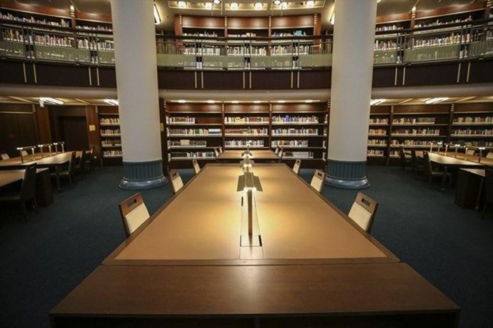 Cumhurbaşkanlığı Millet Kütüphanesi'ni 1 yılda yaklaşık 342 bin kişi ziyaret etti - 2