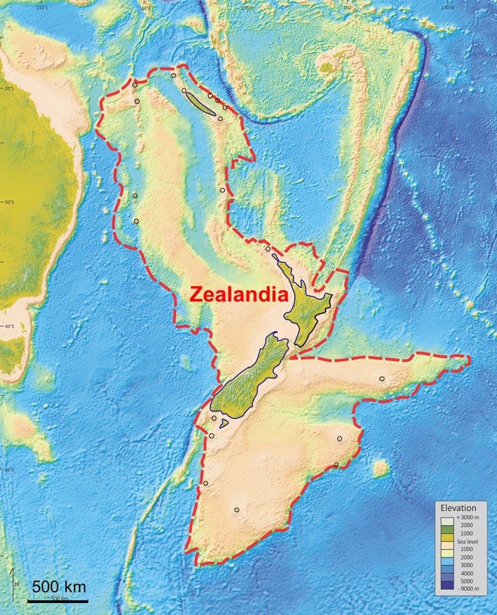 'Kayıp Kıta'nın haritası çıkarıldı - 3