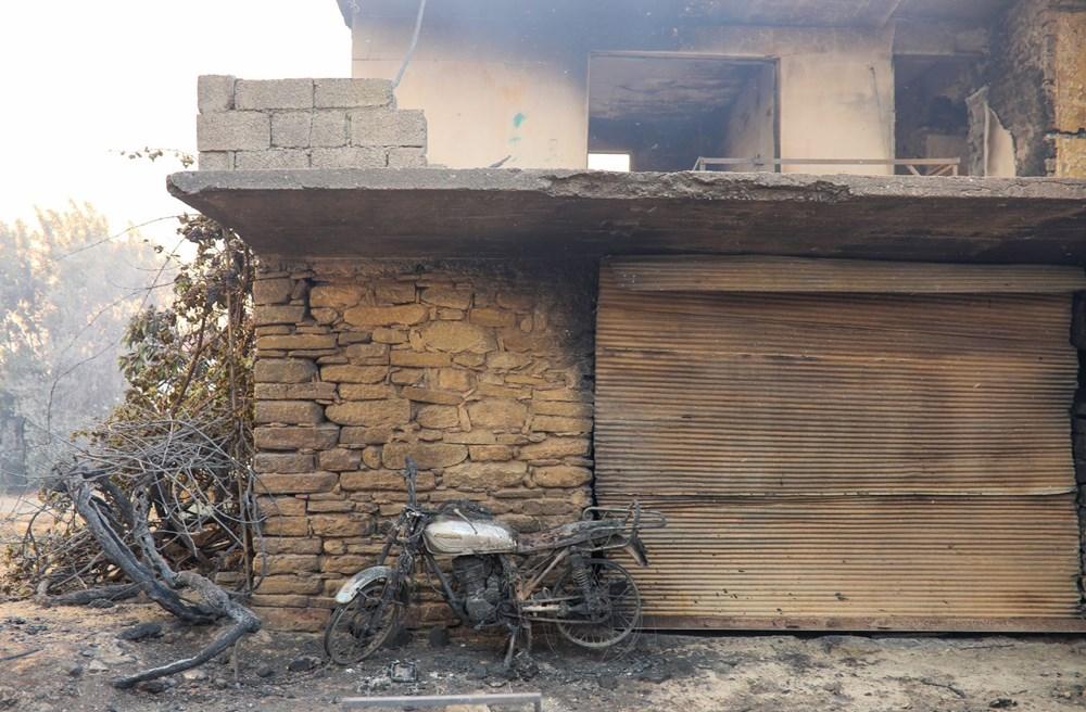 Manavgat'taki yangın evleri kül etti - 11