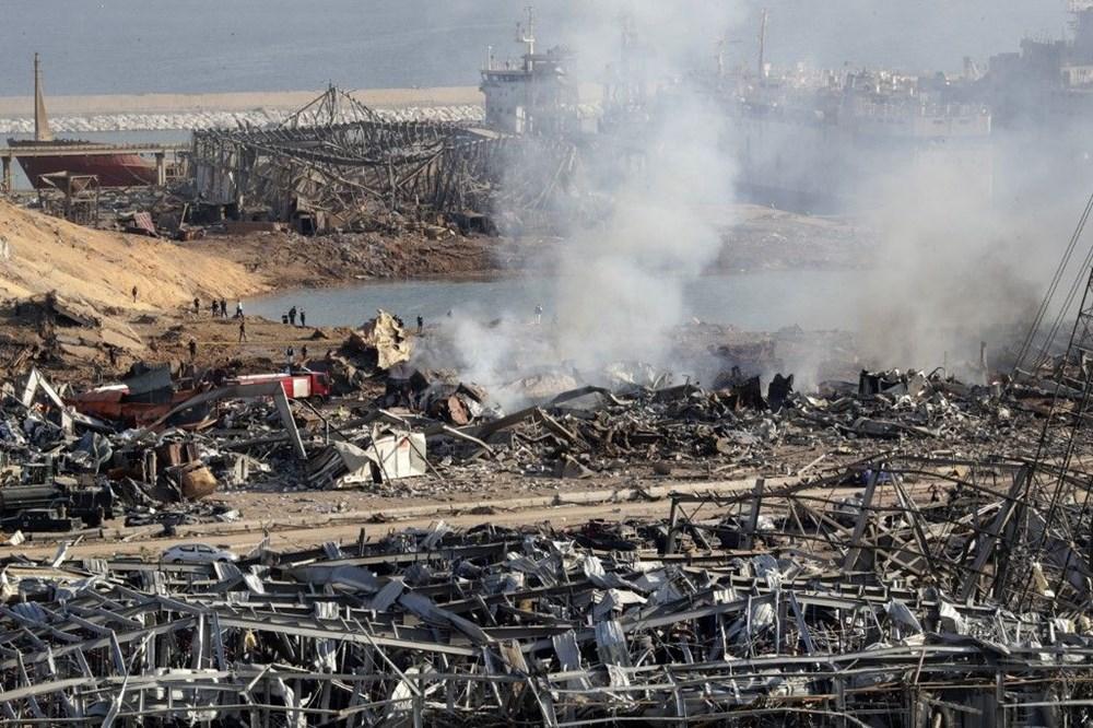 Beyrut'ta patlama: 100 kişi öldü, iki hafta OHAL ilan edildi - 6