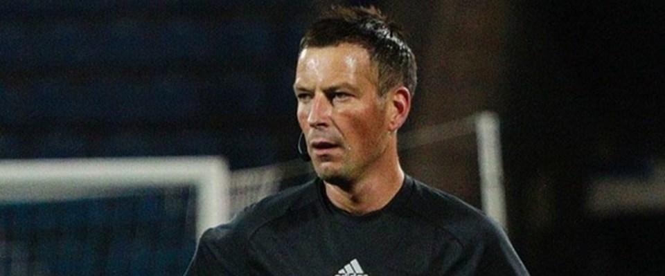 İngiltere Futbol Federasyonundan Mark Clattenburg.