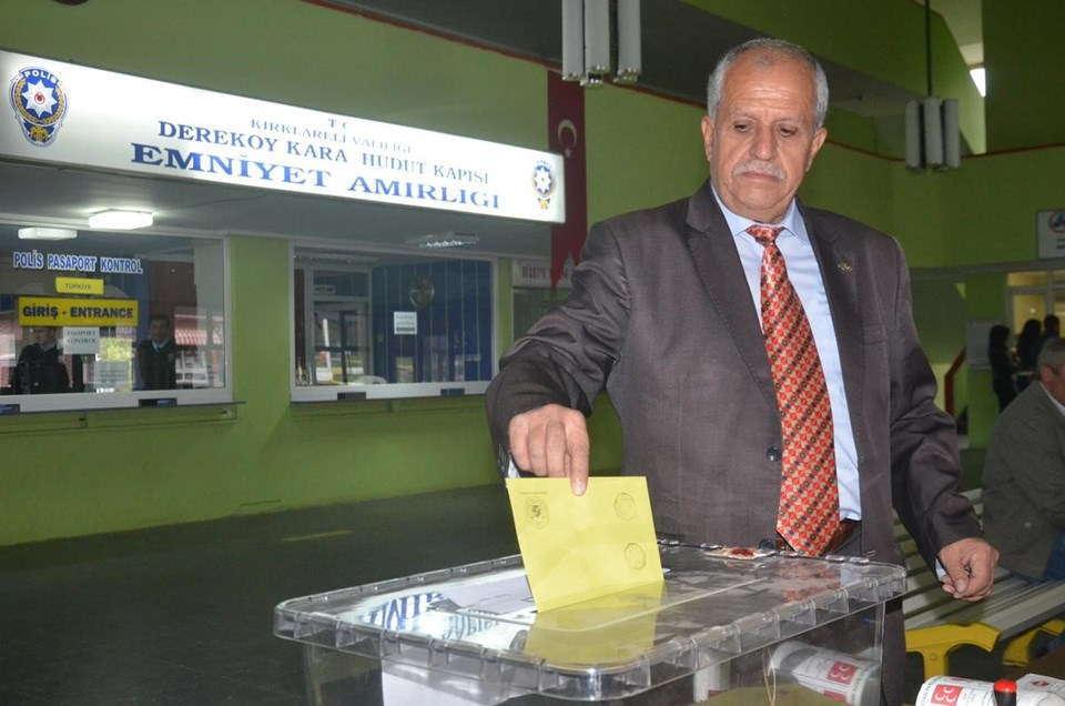 Dereköy Sınır Kapısı/Kırklareli