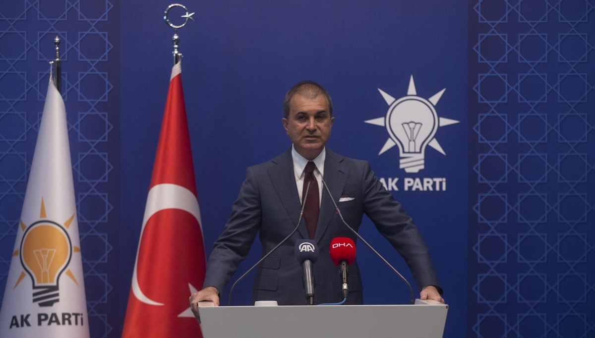 AK Parti Sözcüsü Çelik'ten İsrail'e tepki