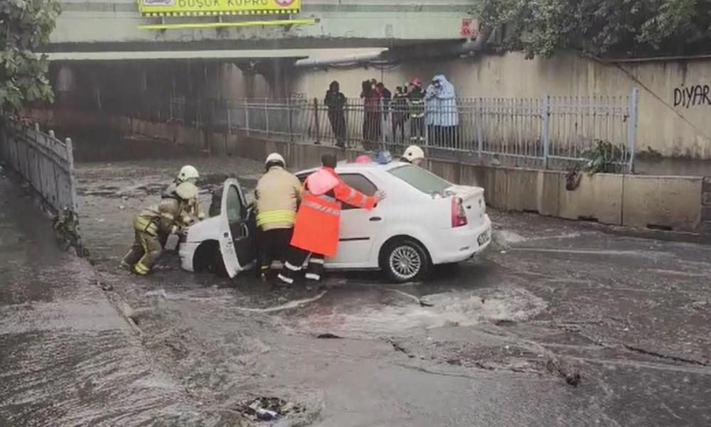 İstanbul'da şiddetli yağmur - 6