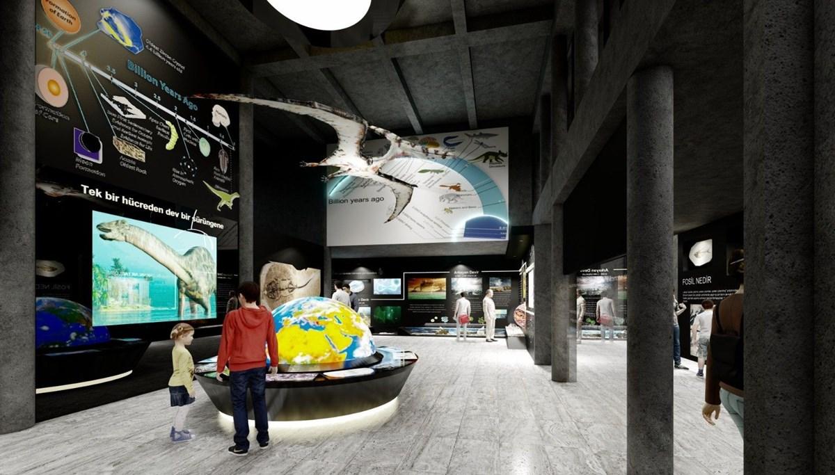 Kayseri'deki Arkeoloji Müzesi, Fosil Müzesi oluyor