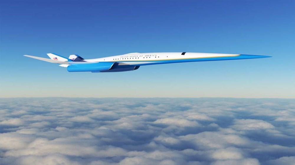 ABD Başkanları için hazırlanan süpersonik uçak 2030 yılında kullanıma hazır olacak - 6