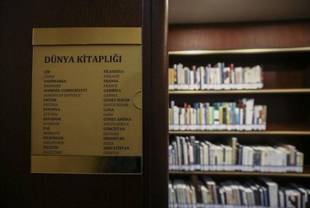 Cumhurbaşkanlığı Millet Kütüphanesi'ni 1 yılda yaklaşık 342 bin kişi ziyaret etti - 6