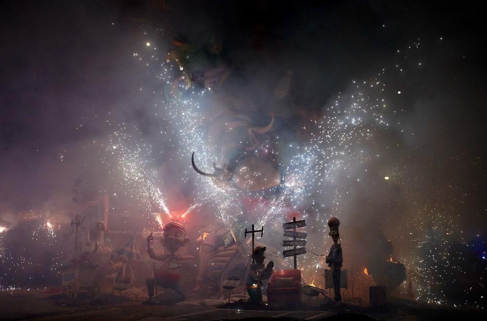 Avrupa'nın en ateşli festivali 'Las Fallas' - 8