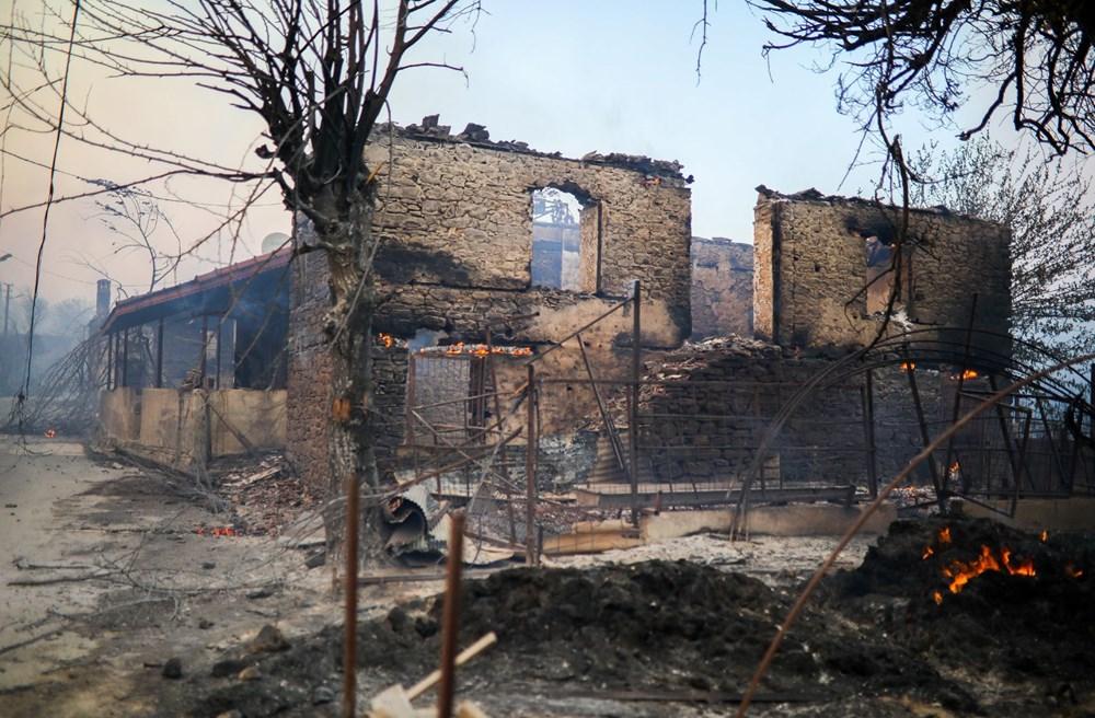 Manavgat'taki yangın evleri kül etti - 13