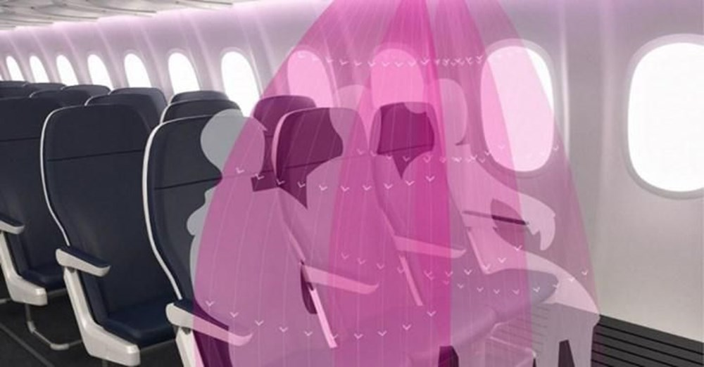 Corona virüs etkisi: Uçak yolculukları için yeni tasarım - 2