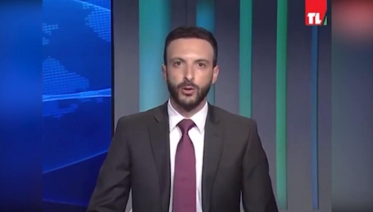 Lübnan devlet televizyonu spikeri canlı yayında istifa etti