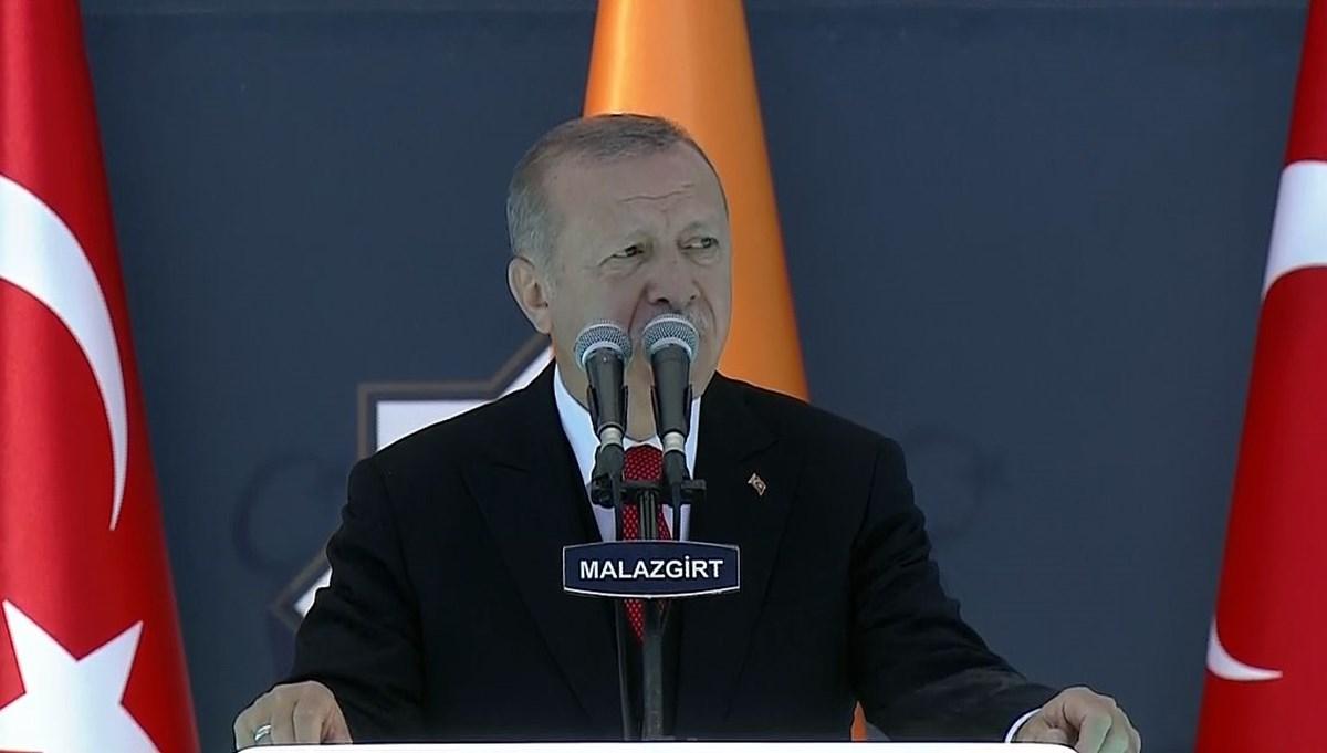 Cumhurbaşkanı Erdoğan:Yaparız diyorsak yaparız, bedelini de öderiz