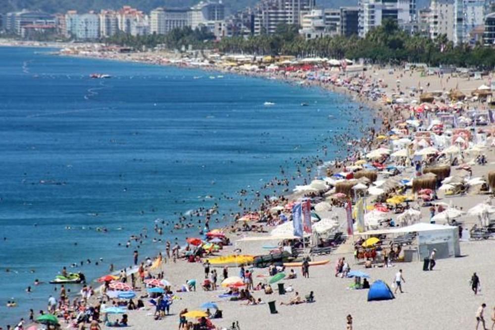Antalya sahillere akın etti - 1