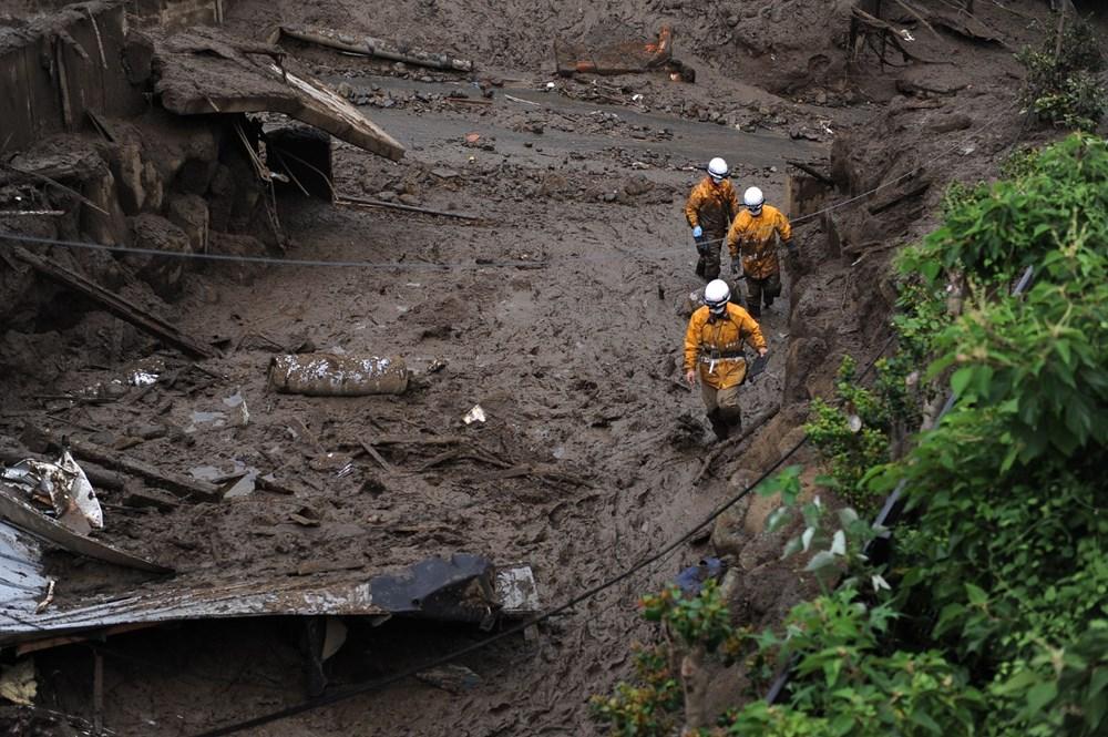 Japonya'daki sel felaketi: Ölü sayısı 7'ye yükseldi - 18
