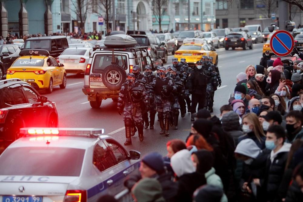 Rusya'da Navalny protestoları: Bin 700'den fazla kişi gözaltına alındı - 8