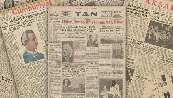 Tarihte bugünün gazete manşetleri (22 Mayıs)