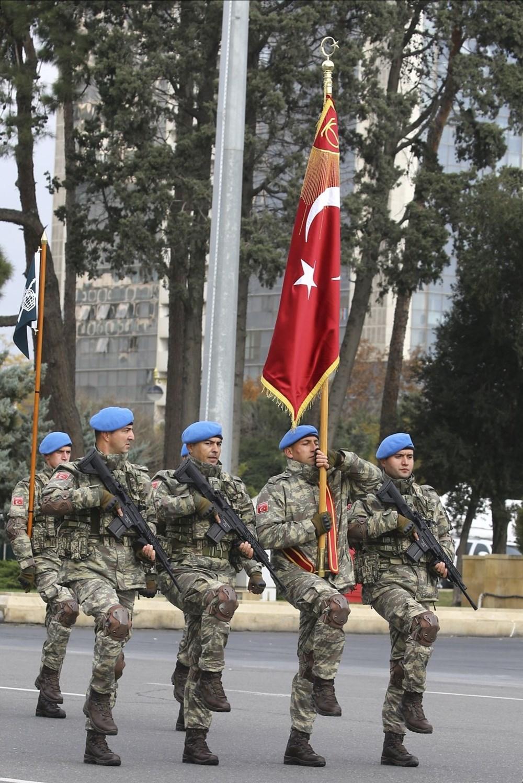 Bakü'de Karabağ zaferi kutlaması - 32
