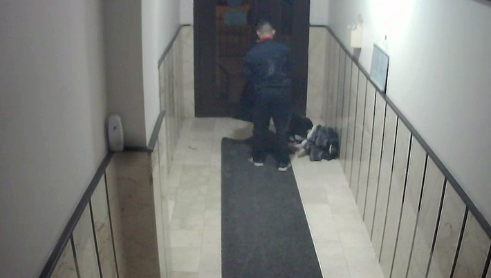 İstanbul'da ayakkabı hırsızı kamerada
