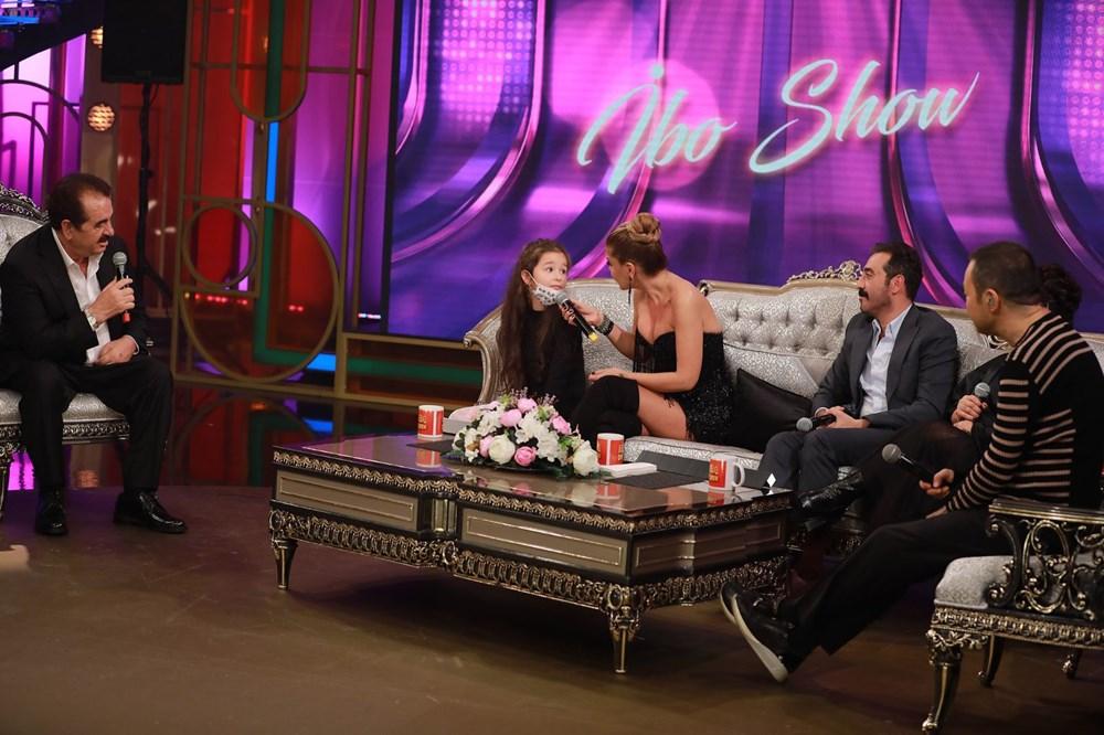 İbo Show yeni bölüm fotoğrafları: İbrahim Tatlıses'in kızı Elif Ada ilk kez stüdyoda - 3