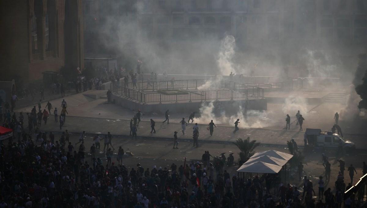 Lübnan'da hükümet karşıtı gösteri