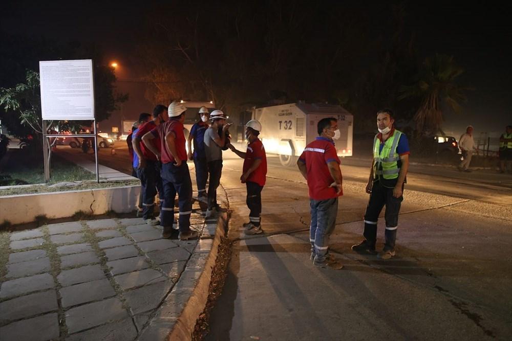 Milas'ta yangın bölgesindeki vatandaşlar tahliye ediliyor - 10
