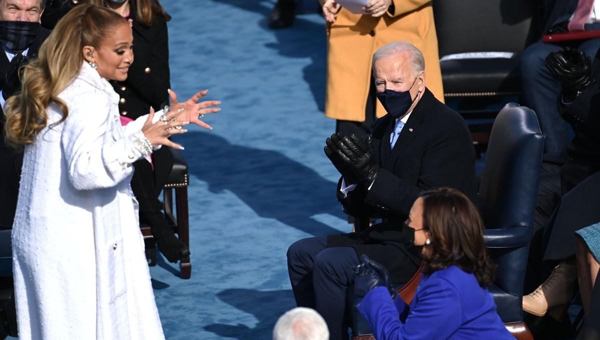 Yemin töreninde Jennifer Lopez'den İspanyolca mesaj