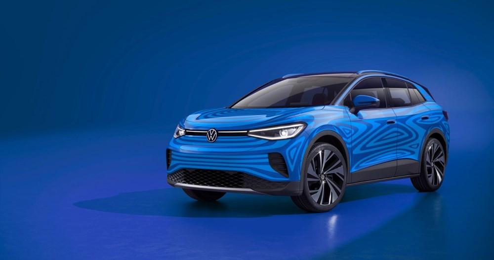 Volkswagen'in ilk elektrikli SUV'u ID.4'ün seri üretimine başlandı - 1